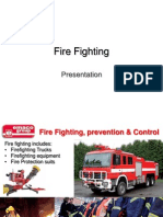 Fire Fighting Presentation