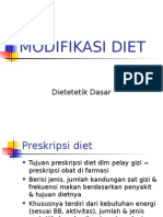 Modifikasi Diet