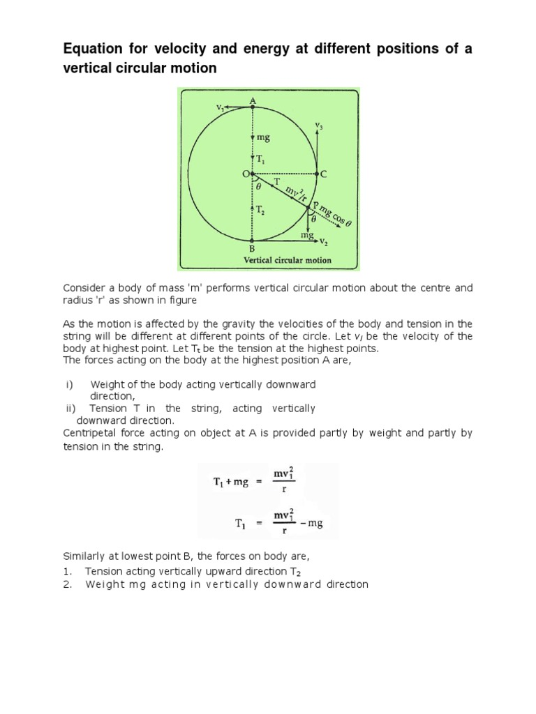 How to calculate force with weight and speed