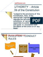 Conduct Rules 1964 Presentation