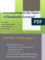 Is Prefabrication the Future of Sustainable Housing