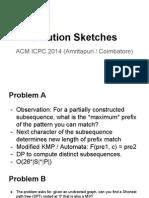 ACM ICPC Amritapuri 2014