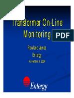 Tansformer Online Monitoring