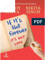 If It's Not Forever -Durjoy Datta Nikita Singh