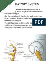 Respiratory System e m b