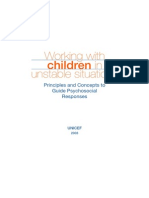 Working With Children in Unstable Contexts