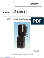 User Manual - Precision Gas Fuel Metering Valve Hfg20