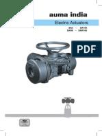Auma - Electric Actuatos