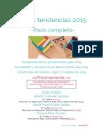 eBook Tendencias 2015 Pack SEO Diseño Grafico y Web Teresa Alba MadridNYC