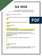 SLE 2010-3