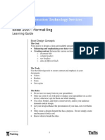 MS Excel 2007 - Formatting