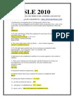 SLE 2010-1