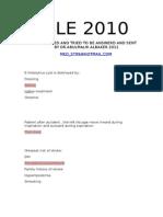 SLE 2010-11
