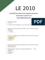SLE 2010-9