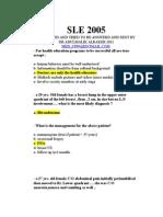 SLE 2005 -1