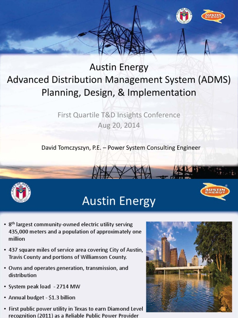 austin energy adms implementation smart grid electrical grid
