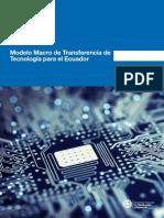 Modelo Macro de Transferencia de Tecnología Para El Ecuador