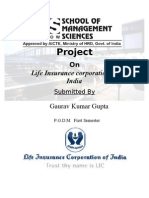 Project on LIC