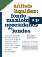 Analisis de liquidez
