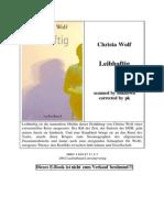 Christa Wolf - Leibhaftig
