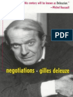 Negotiations 1972-1990 - Gilles Deleuze
