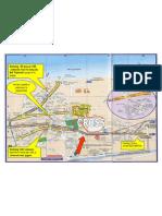 Plan d'accès LEFFRINCKOUCKE Avec Parking
