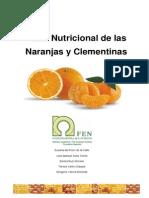 Valor nutricional de naranjas y mandarinas