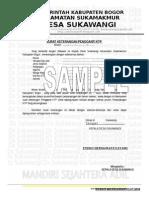 SURAT KETERANGAN PENGGANTI KTP 2 (Repaired) SAMPLE.doc