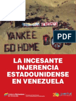 Incesante Injerencia de Usa en Venezuela