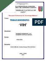 Monografia de Virologia Vih (2)