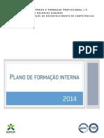 Exemplo de Plano de Formação Interna