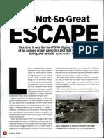 German prisoners of war evasion in Arizona