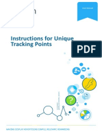 Instructions for UniqueTrackingPoints