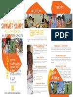 Summer Camps Children Spain Alicante2015