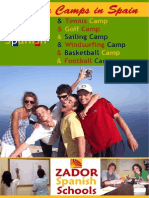 Summer Camps Teenagers Spain ZADORSPAIN