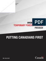 Canada Temporary Foreign Worker Program