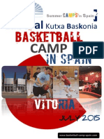 International Basketball Camp Spain 2015 Laboral Vitoria