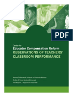 ObservatiOns of Teachers' Classroom Performance
