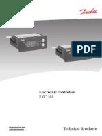Data Sheet EKC 101 Danfoss