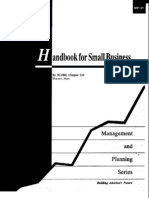 Finance Management Project Strategic - Handbook for Small Business