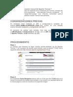Instalación y Configuración Manual de Apache Tomcat 7