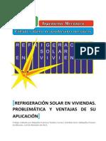 Estudio de Refrigeración Solar en Viviendas