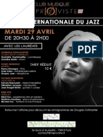 Soirée internationale du jazz-final. I