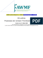 003-001l S3 Thromboembolie-Prophylaxe 2010 01