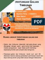 Galian Dan Timbunan (cut and fill)