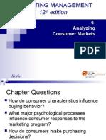 Analysing Consumer Market KOTLER