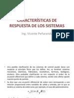 Caracteristicas de Respuestas de Los Sistemas