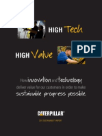 2012 Caterpillar Sustainability Report