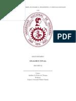 Solucionario Examen Final STF