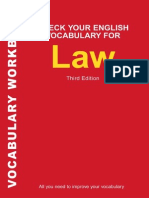 6 Check Your English Vocabulary for Law